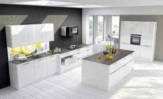 Kuchyně NOLTE Spot 180 Bílá vysoký lesk