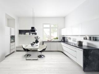Kuchyně NOLTE Soft Lack 76W Bílá soft matná