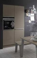 Kuchyně NOLTE Soft Lack 76L/769 Lava soft matná/Magma soft matná