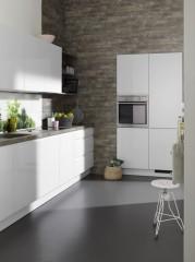 Kuchyně NOLTE Alpha Lack 55A Arktický bílý vysoký lesk
